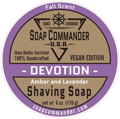 Soap Commander - Devotion - Soap (Vegan) image
