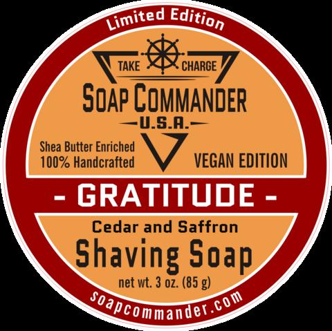 Soap Commander - Gratitude - Soap (Vegan) image