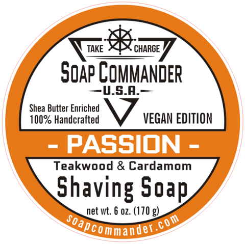 Soap Commander - Passion - Soap (Vegan) image