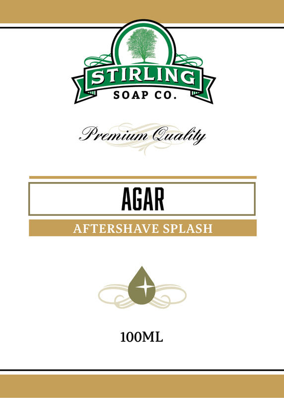 Stirling Soap Co. - Agar - Aftershave image