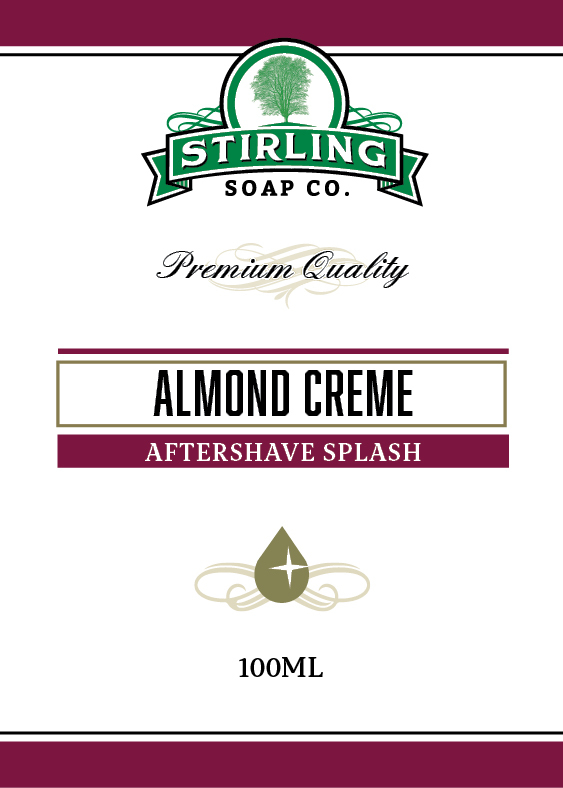 Stirling Soap Co. - Almond Creme - Aftershave image