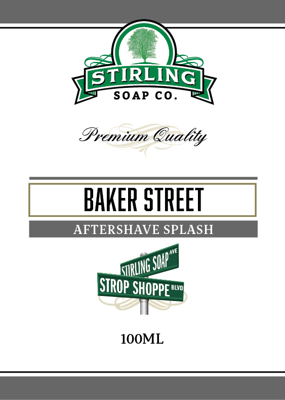 Stirling Soap Co. - Baker Street - Aftershave image