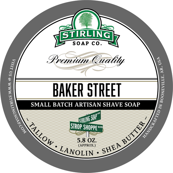Stirling Soap Co. - Baker Street - Soap image