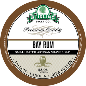 Stirling Soap Co. - Bay Rum - Soap image