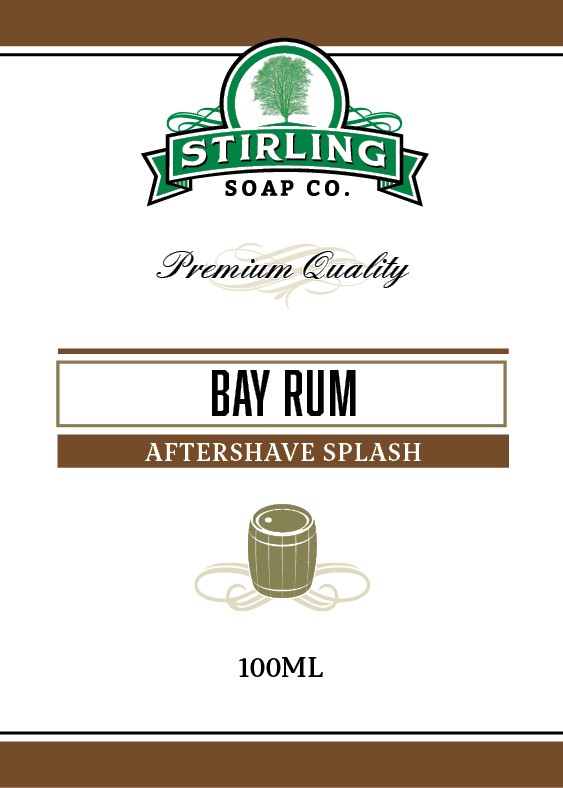 Stirling Soap Co. - Bay Rum - Aftershave image