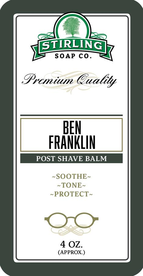Stirling Soap Co. - Ben Franklin - Balm image