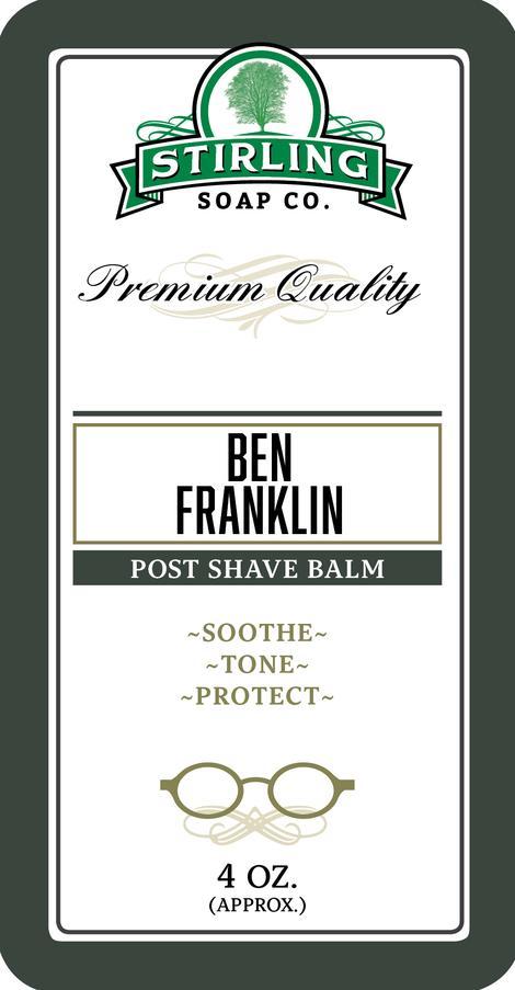 Stirling Soap Co. - Ben Franklin - Balm image