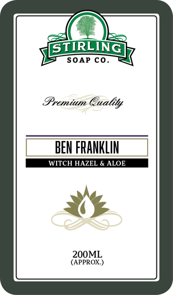 Stirling Soap Co. - Ben Franklin - Toner image