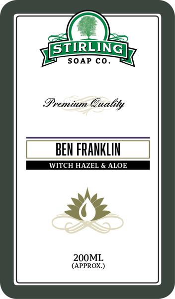 Stirling Soap Co. - Ben Franklin - Toner image