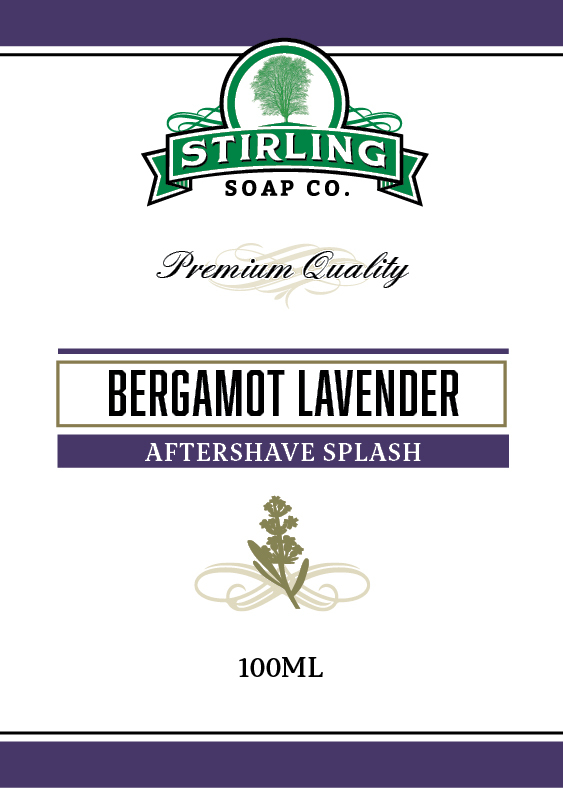 Stirling Soap Co. - Bergamot Lavender - Aftershave image