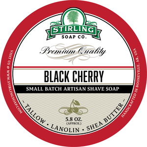Stirling Soap Co. - Black Cherry - Soap image
