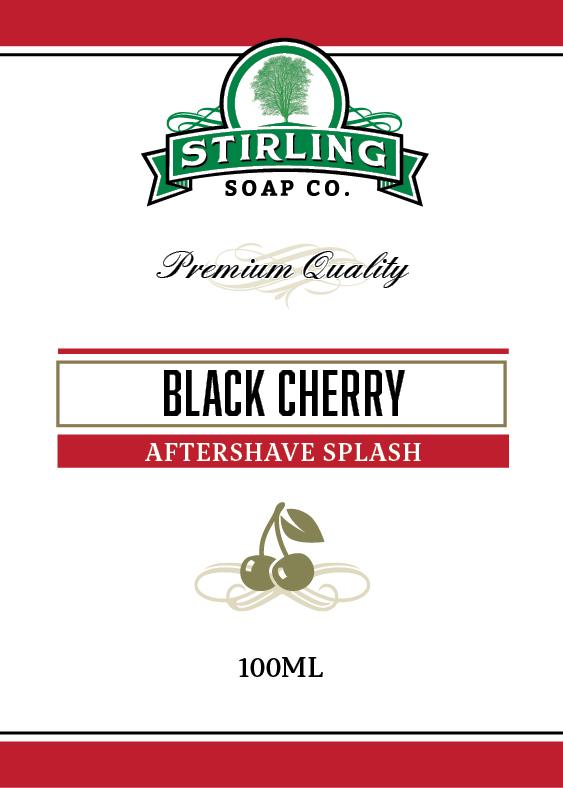 Stirling Soap Co. - Black Cherry - Aftershave image