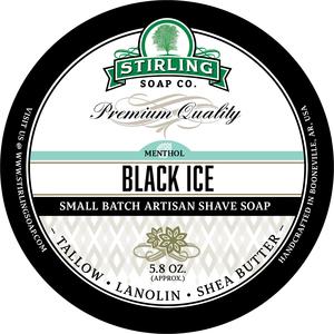 Stirling Soap Co. - Black Ice - Soap image