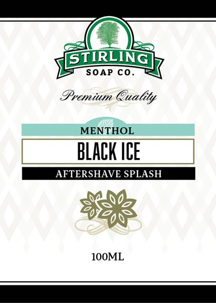 Stirling Soap Co. - Black Ice - Aftershave image