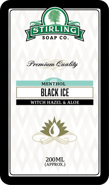 Stirling Soap Co. - Black Ice - Toner image