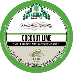 Stirling Soap Co. - Coconut Lime - Soap image