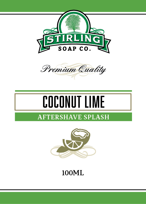Stirling Soap Co. - Coconut Lime - Aftershave image