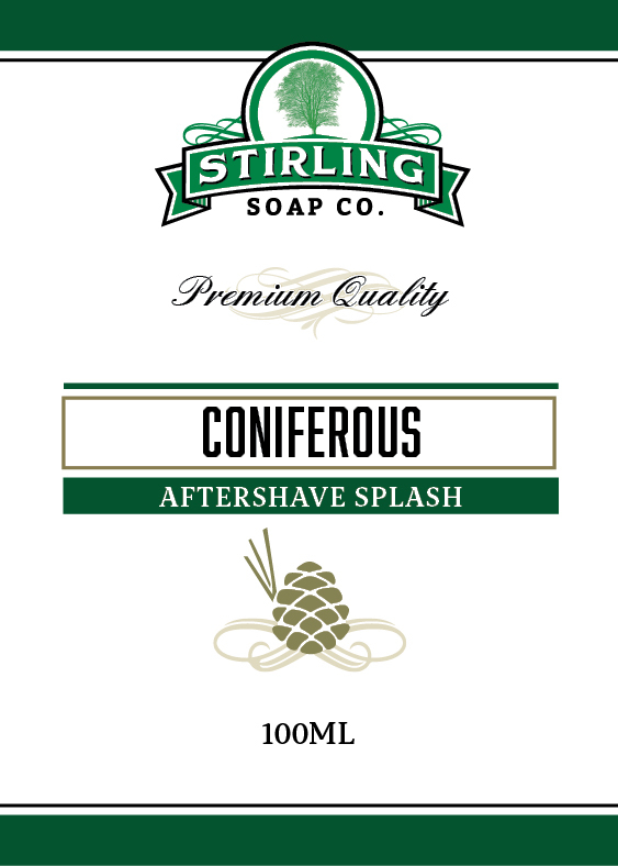 Stirling Soap Co. - Coniferous - Aftershave image