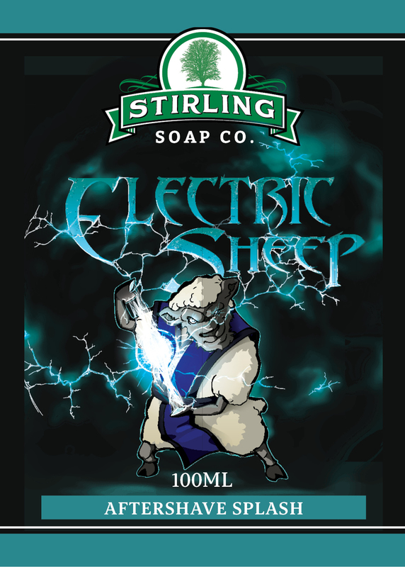 Stirling Soap Co. - Electric Sheep - Aftershave image