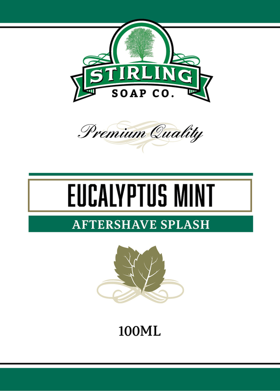 Stirling Soap Co. - Eucalyptus Mint - Aftershave image
