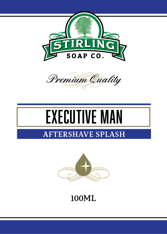 Stirling Soap Co. - Executive Man - Aftershave image