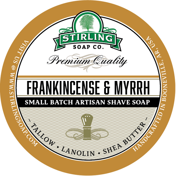Stirling Soap Co. - Frankincense & Myrrh - Soap image
