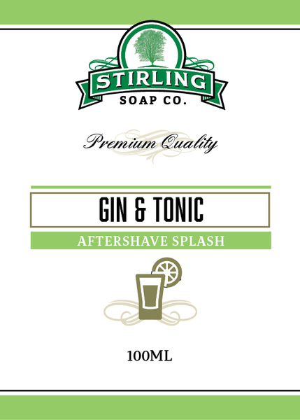 Stirling Soap Co. - Gin & Tonic - Aftershave image
