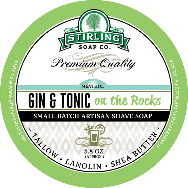 Stirling Soap Co. - Gin & Tonic on the Rocks - Soap image