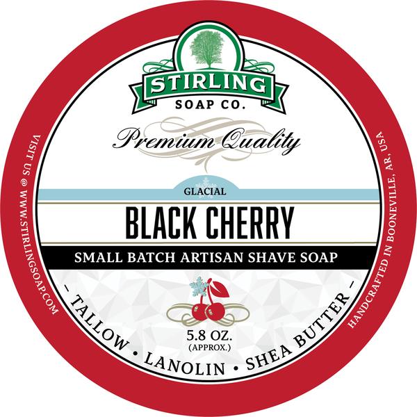 Stirling Soap Co. - Glacial, Black Cherry - Soap image