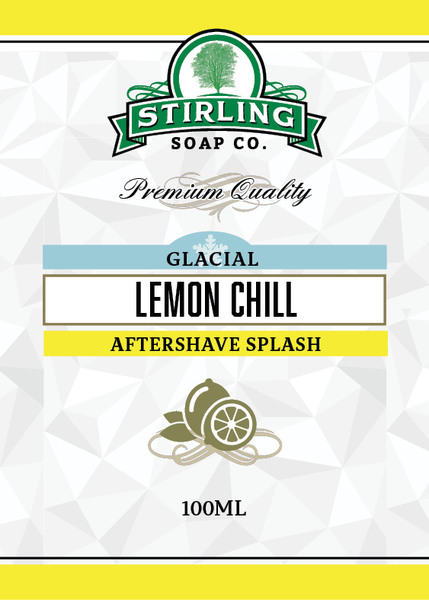 Stirling Soap Co. - Glacial, Lemon Chill - Aftershave image