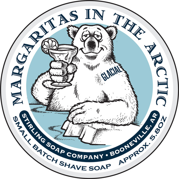 Stirling Soap Co. - Glacial, Margaritas in the Arctic - Soap image