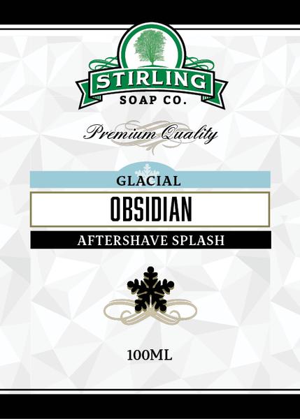 Stirling Soap Co. - Glacial, Obsidian - Aftershave image