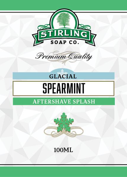 Stirling Soap Co. - Glacial, Spearmint - Aftershave image