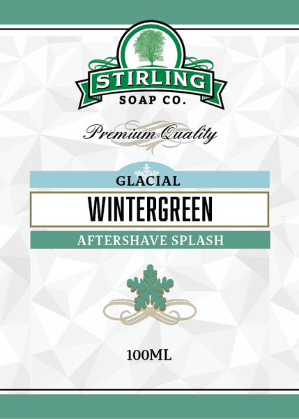 Stirling Soap Co. - Glacial, Wintergreen - Aftershave image