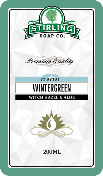 Stirling Soap Co. - Glacial, Wintergreen - Toner image