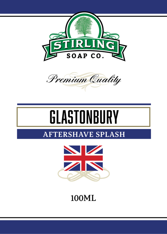 Stirling Soap Co. - Glastonbury - Aftershave image