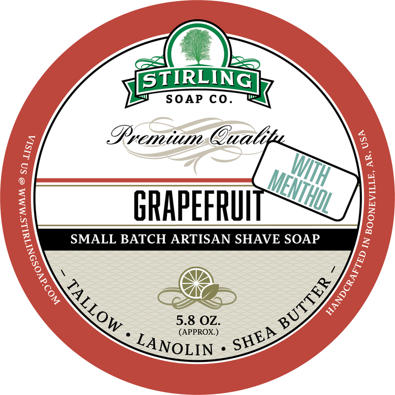 Stirling Soap Co. - Grapefruit with Menthol - Soap image