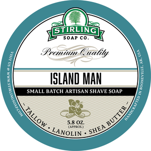 Stirling Soap Co. - Island Man - Soap image
