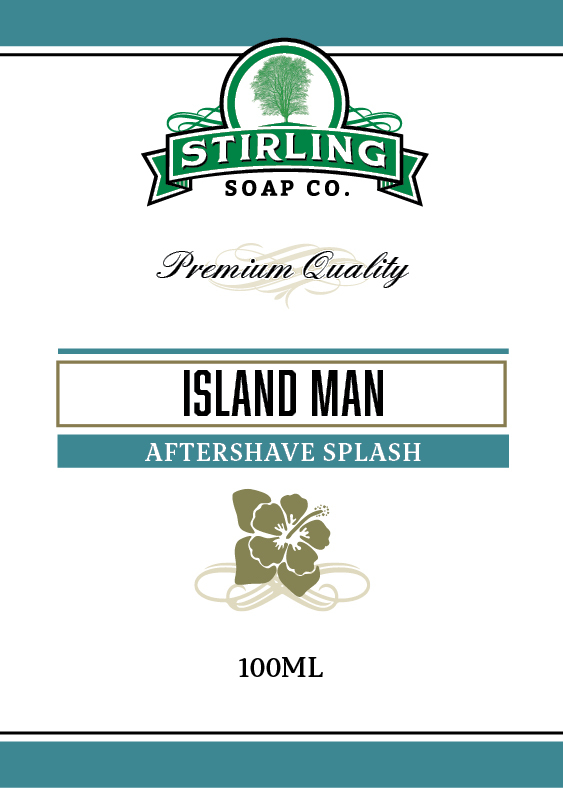 Stirling Soap Co. - Island Man - Aftershave image