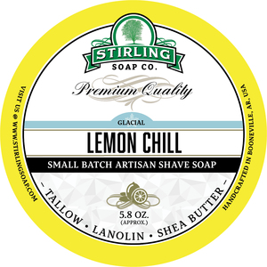 Stirling Soap Co. - Glacial, Lemon Chill - Soap image