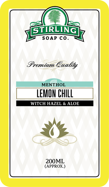 Stirling Soap Co. - Glacial, Lemon Chill - Toner image