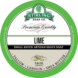 Stirling Soap Co. - Lime - Soap image