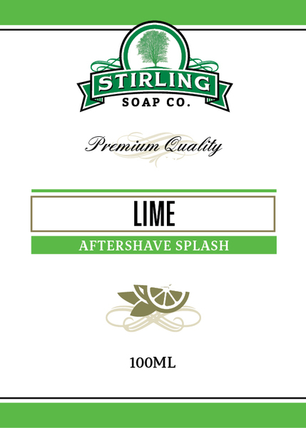 Stirling Soap Co. - Lime - Aftershave image