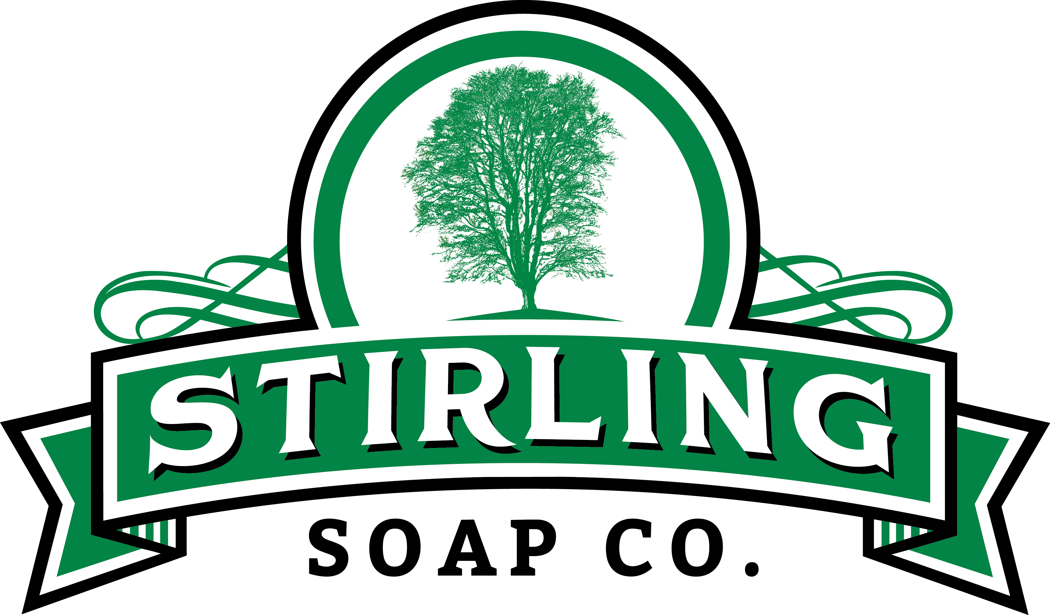 Stirling Soap Co. logo