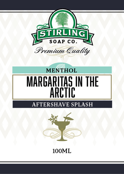 Stirling Soap Co. - Margaritas in the Arctic - Aftershave image