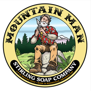 Stirling Soap Co. - Mountain Man - Soap image