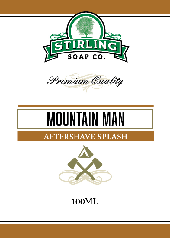 Stirling Soap Co. - Mountain Man - Aftershave image