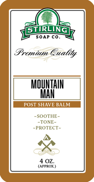 Stirling Soap Co. - Mountain Man - Balm image