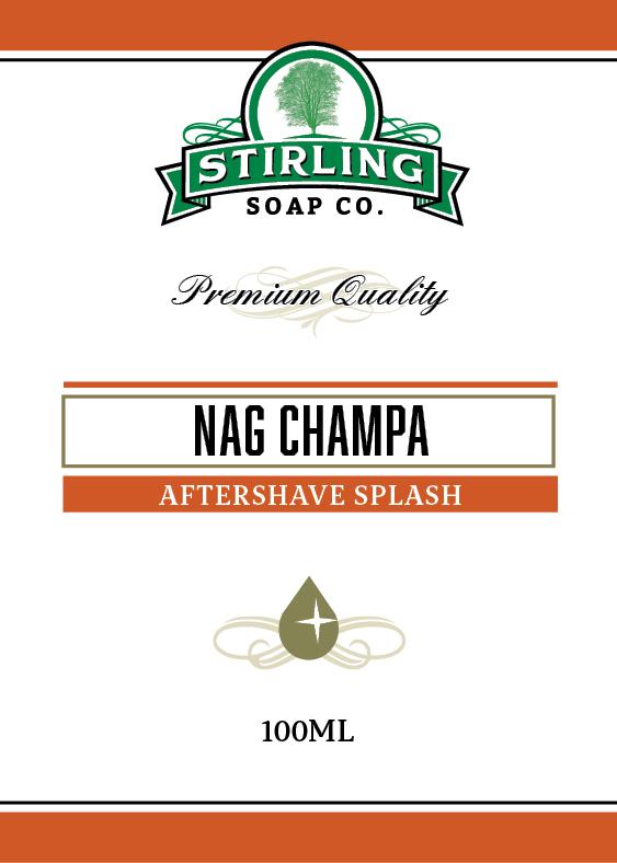 Stirling Soap Co. - Nag Champa - Aftershave image
