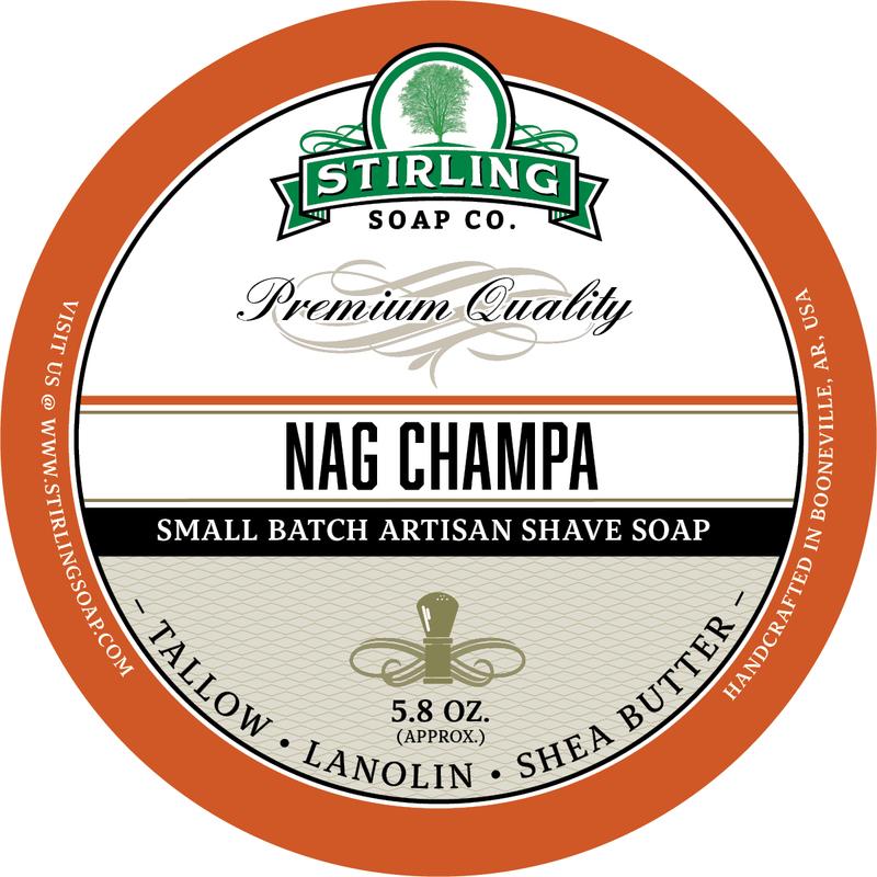 Stirling Soap Co. - Nag Champa - Soap image